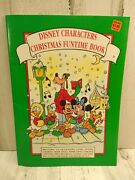 New Disney Characters Christmas Fun Time Book 3-d Decor Games Puzzles Ornaments