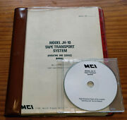 Mci Model Jh-10 Tape Transport System Operating And Service Manual On C/d Rom