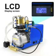 Pcp Air Compressor Preset Auto-stop Electric Air Pump Booster For Paintball Tank