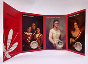 Peru Bicentenary Woman In The Process Of Independence Coins On Card