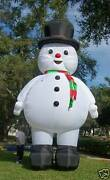 20and039 Inflatable Christmas Snowman/blower 4 Advertising Promotions