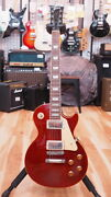Used Gibson Ltd Les Paul Standard Mh 2003 Red Electric Guitar Free Shipping