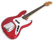 Fender Japan Jb62 Red Electric Bass Used Free Shipping Made In Japan