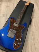Provision Tl Custom Type Blue Electric Guitar Used Free Shipping