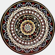 42 Inches Marble Dining Table Top Beautiful Design Round Office Meeting Table