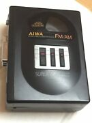 Aiwa Vintage Portable Radio Cassette Player Full Working New Belt 1990andrsquos Model