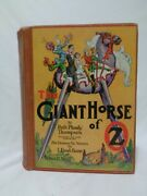 1928 The Giant Horse Of Oz Color Plates Plumly Thompson Fabulous