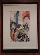 Erle Loran Group Of Two Pastel And Watercolor Works On Paper
