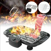 Electric Grill Bbq Barbecue Grill Indoor/outdoor Smokeless Griddle Nonstick