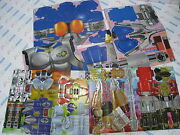 Power Ranger Wild Force Gao King Paper Robot And Masked Rider Agito Cosplay Set