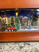 Mr Christmas Music Box Animated Symphony Of Bells 70 Songs-village Train Works