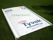 10 X 8 Ft Tyvek Housewrap Paper Underlayment Siding Wall Insulation Mold Protect