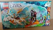New In Sealed Box, Lego Elves -queen's Dragon Rescue Set 41179