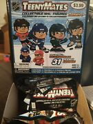 2021 Nhl Series 7 Teenymates 4 Pack Lot 8 Total Figures And Puzzle Pieces