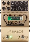 Two Notes Le Crunch 2-channel British Tones Tube Preamp... 3-pack Value Bundle