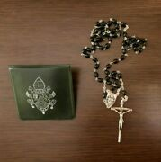 Authentic Rosary Blessed Received From Pope Benedict Xvi Papst Benedict Vatican