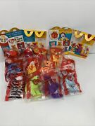 Ty Beanie Babies 25 Anniversary Mcdonalds 2004 Happy Meal Toys Full Set And2 Boxes