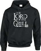 Lord Of The Grill Parody Barbecue Grilling Bbq Cookout Joke Funny Mens Hoodie