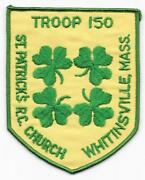Whitinsville Massachusetts Mohegan Council Troop 150 Boy Scouts Of America Bsa