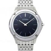 Citizen Eco Drive One Ar5000 50e Black Dial Mens Wrist Watch 90116681
