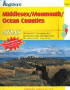 Hagstrom Middlesex/monmouth/ocean Counties, Nj. Atlas Middlesex County, - Good