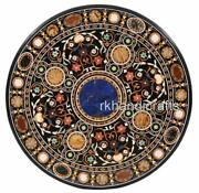 48 Inch Marble Patio Dining Table Top Stone Coffee Table Hand Crafted From India