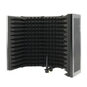 5x5 Panel Foldable Studio Microphone Isolation Shield Recording Sound Absorber
