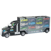 5x13pcs/set Transport Car Carrier Truck Boys Toy Include Alloy 10 Cars