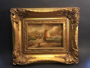 Vintage Oil Painting By Albert Hess 1895-1960 Listed Artist