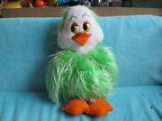 Vintage Retro Keith Harris' Orville And Cuddles - Green Duck - Soft Plush Toy 22