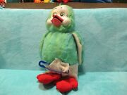 Vintage Tebro Keith Harris' Orville And Cuddles - Duck And Diaper Soft Plush Toy 18