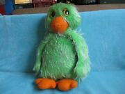 Vintage Retro Keith Harris' Orville And Cuddles - Green Duck - Soft Plush Toy 21
