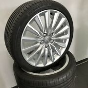 18 Inch S-line Alloy Wheels Aluminium Complete 225 40 R18 Summer Tyre Audi A3 8v