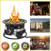19 Portable Propane Fire Pit Outdoor Campine Gas Auto-ignition Firepit Campfire