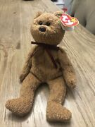 Ty Beanie Babies Curly The Bear 4/12/1996 Tag See Pictures
