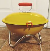 Bodum Fyrkat Picnic 15 Grill Yellow Never Used Camping Tailgating Rv Mod Pop