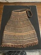 Antique Native American Woven Side Bag Deaccession From U Of San Diego Museum