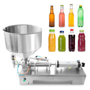Automatic Filling Machine 100-1000ml For Cream Honey Sauce Cosmetics Tooth Paste