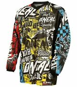 Oneal Element Youth Motocross Mx Enduro Jersey Childrens Mx Top Lastyearsgear