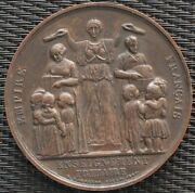 Medal Second Empire Teaching Primary Assigns On The Edge In 1861/62