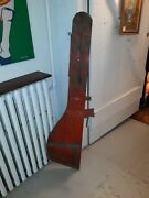 Antique Nautical Wooden Boat Rudder New Jersey Shore
