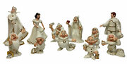 Lenox Disney Snow White And The Seven Dwarfs The Witch Queen Full Set