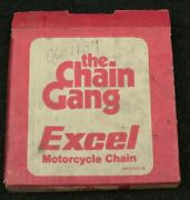 The Chain Gang Excel Motorcycle Chain 530-106 L With Master Link P3015