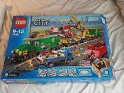 Lego Trains Cargo Train Deluxe 7898 Used In Box 99 Complete