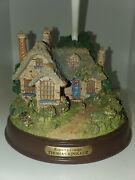 Thomas Kinkade Everett's Cottage Gorgeous Table Lamp Very Good Condition Tested