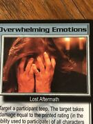 Overwhelming Emotions Psi Corps Babylon 5 Ccg Rare Card Near Mint Never Played