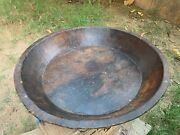 18th C Antique Rare Wooden Handcrafted Kitchen Mixing Bowls Dough Bread Bowl