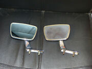 Vintage Classic Car Wing Mirror Lot Of 2 Left Mirrors