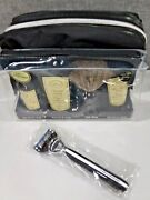 The Art Of Shaving Travel Kit With Morris Park Razor Unscented 5 Pieces