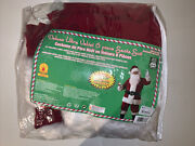 Rubieand039s Adult Deluxe Ultra Velvet Santa Suit With Gloves Xxx-large 3xl New